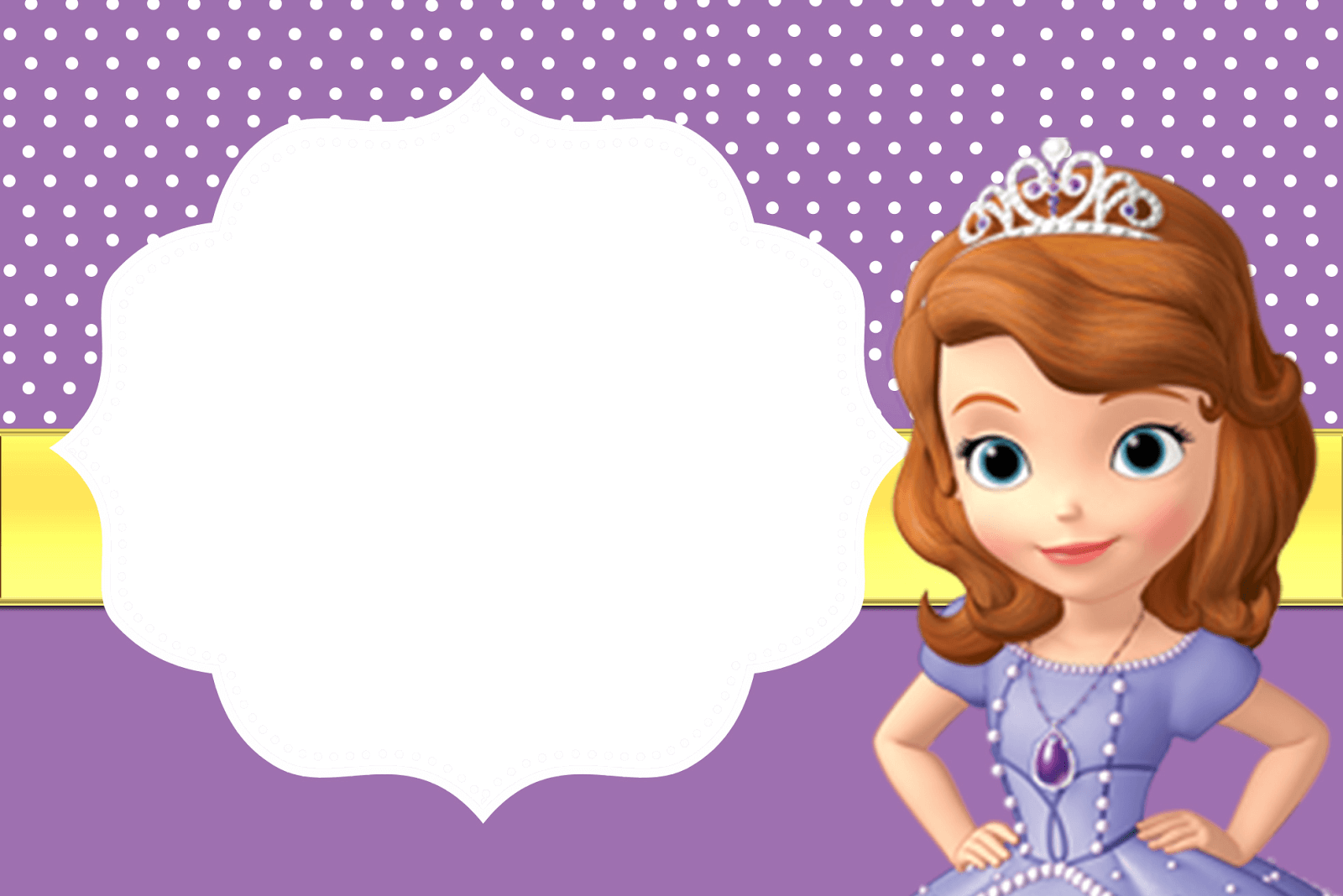 Sofia The First Birthday Invitations with perfect invitation design