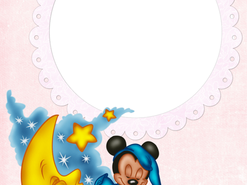 Marco para foto mickey mouse1