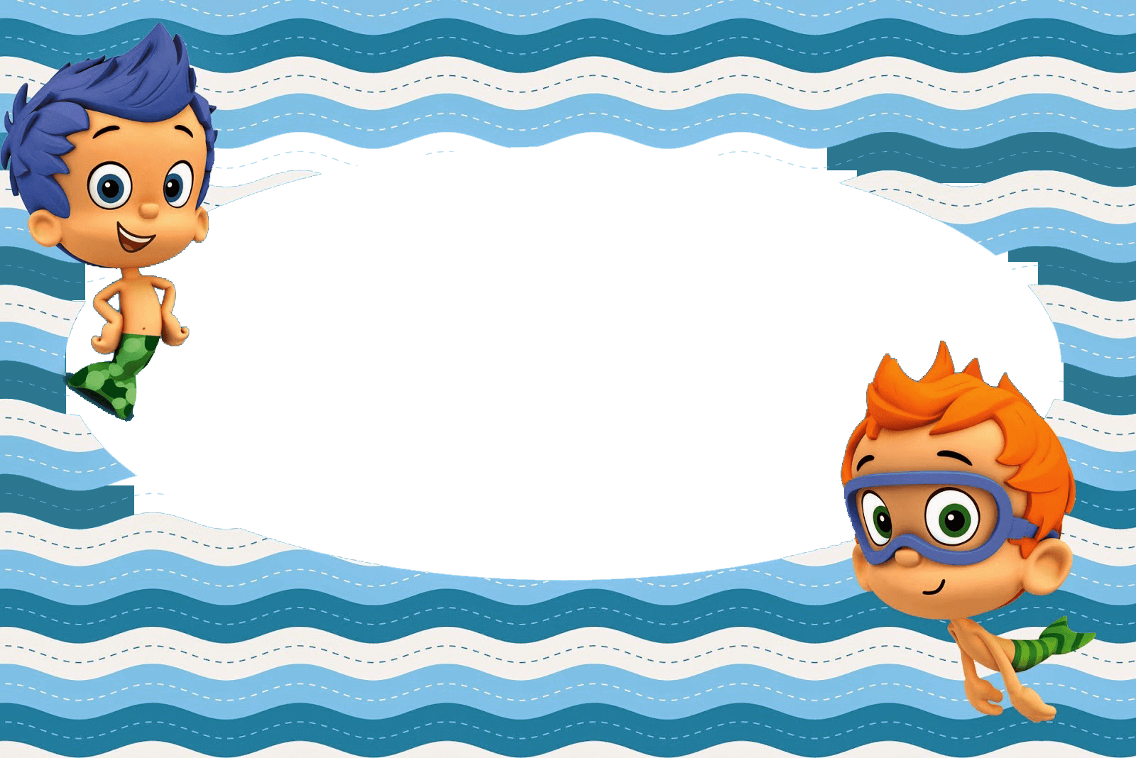 MARCO FOTO BUBBLE GUPPIES