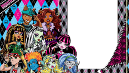 Marco de foto Monster high