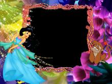 Marco de Foto de la Princesa Jasmine de Aladino