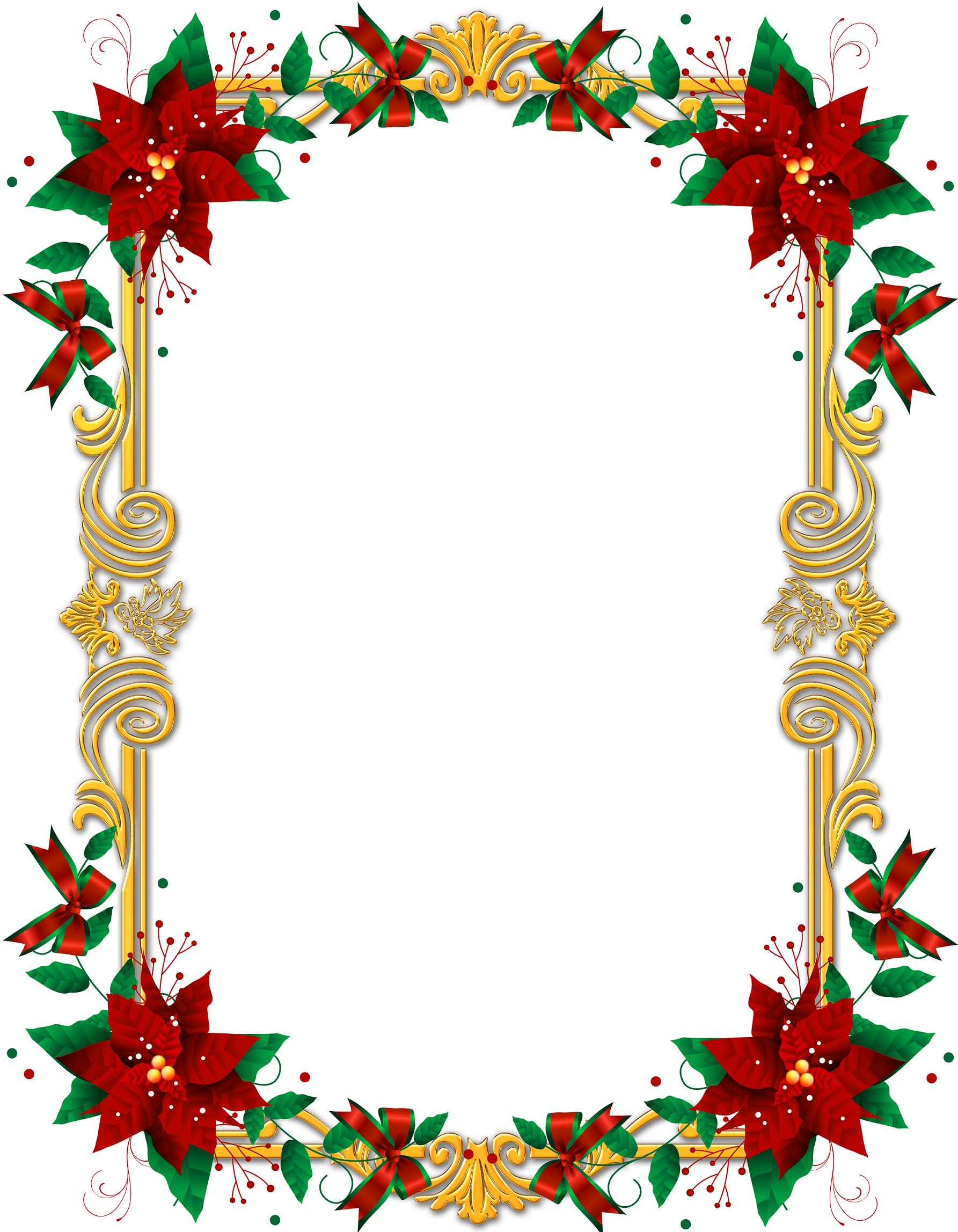 Marcos de navidad para editar en Photoshop gratis