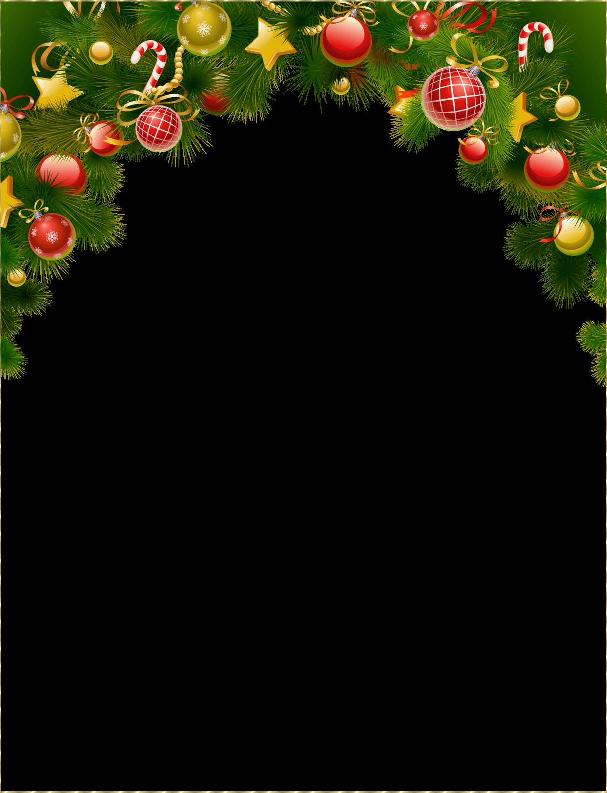 descargar marcos de fotos navideñas gratis