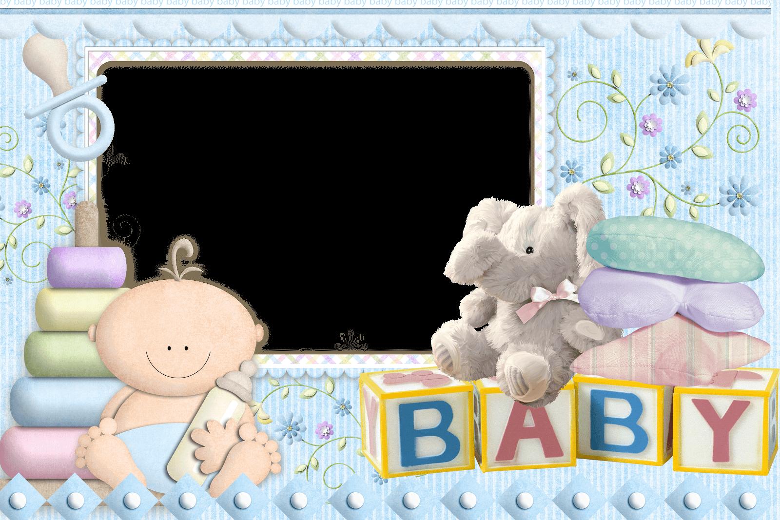 Marcos para Fotos de Bebes Recien Nacidos | Descargar Marcos
