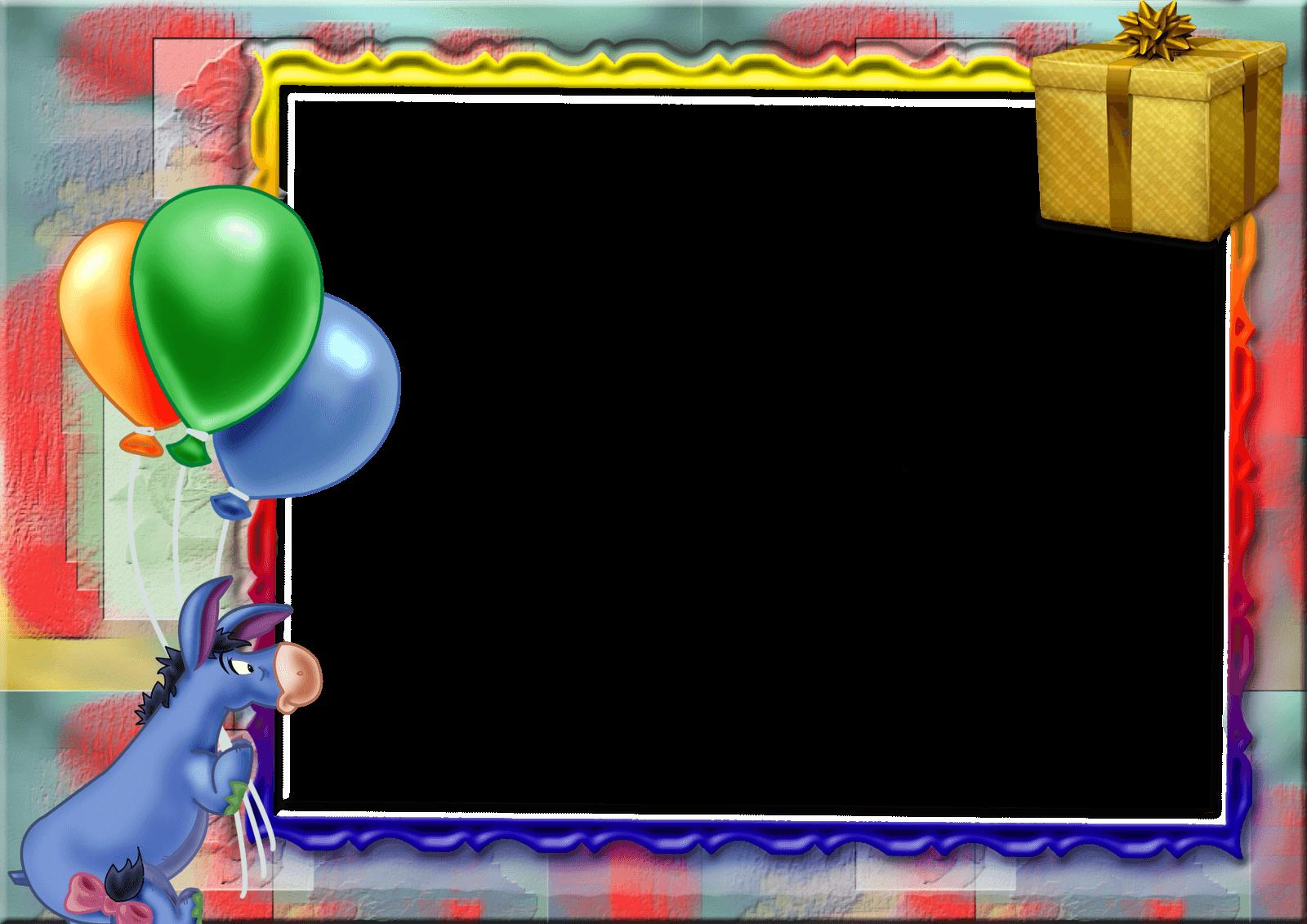 marco de foto cumpleaño 10