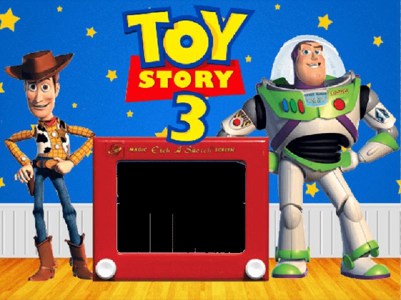 Marco de Foto Toy Story 3 | Descargar Marcos