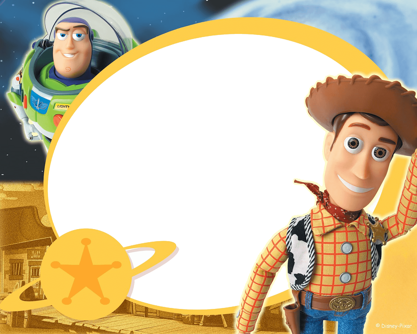 Marco de Toy Story 2