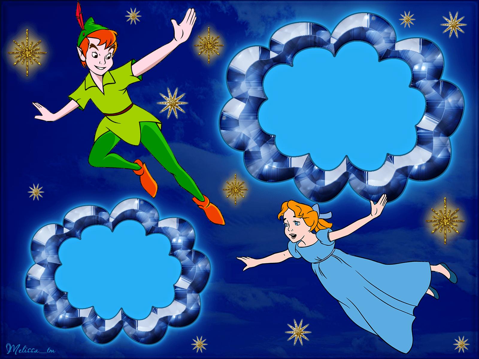 Marco para foto Peter Pan