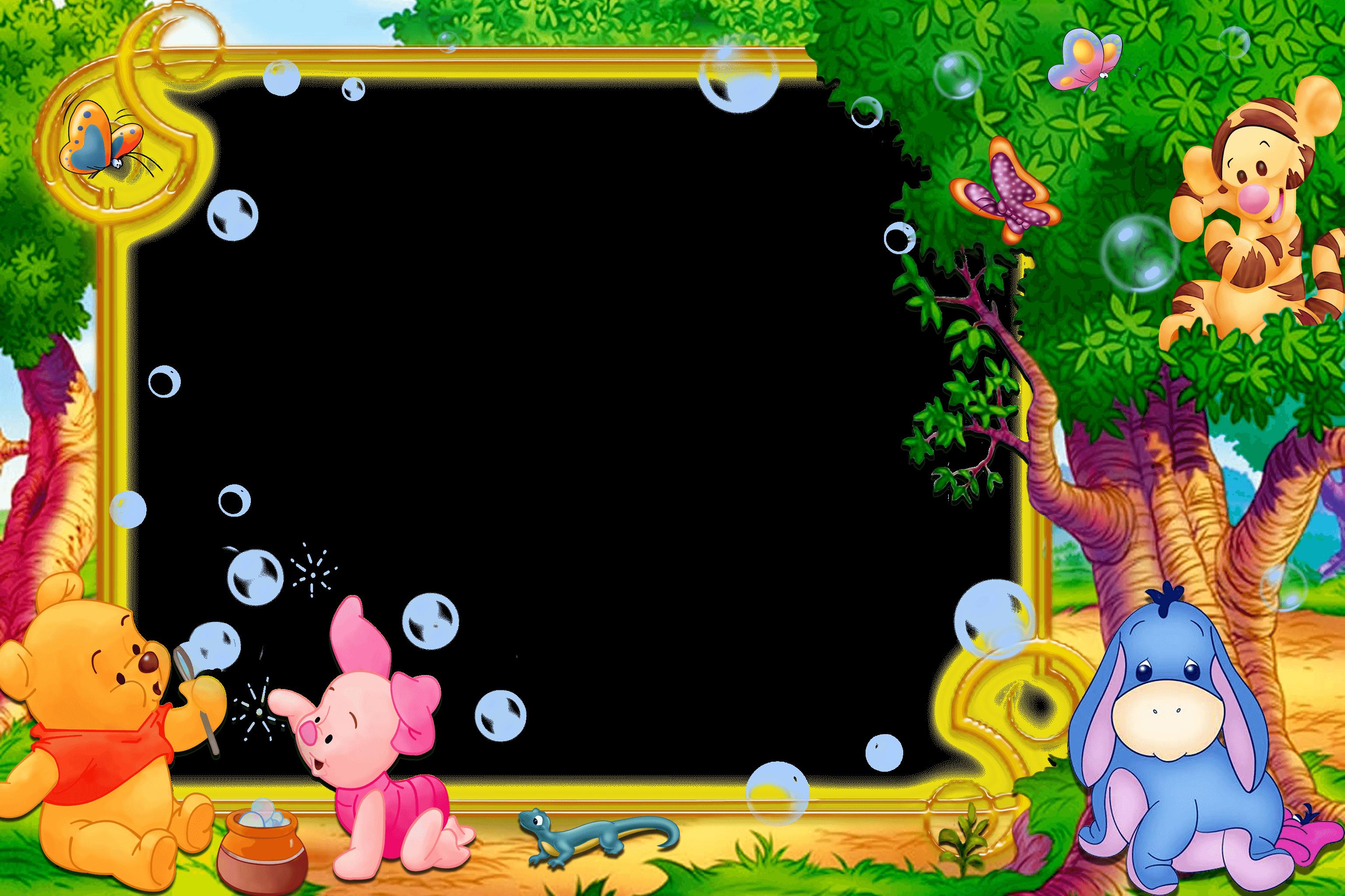 Kids frame Winnie_The_Pooh 07