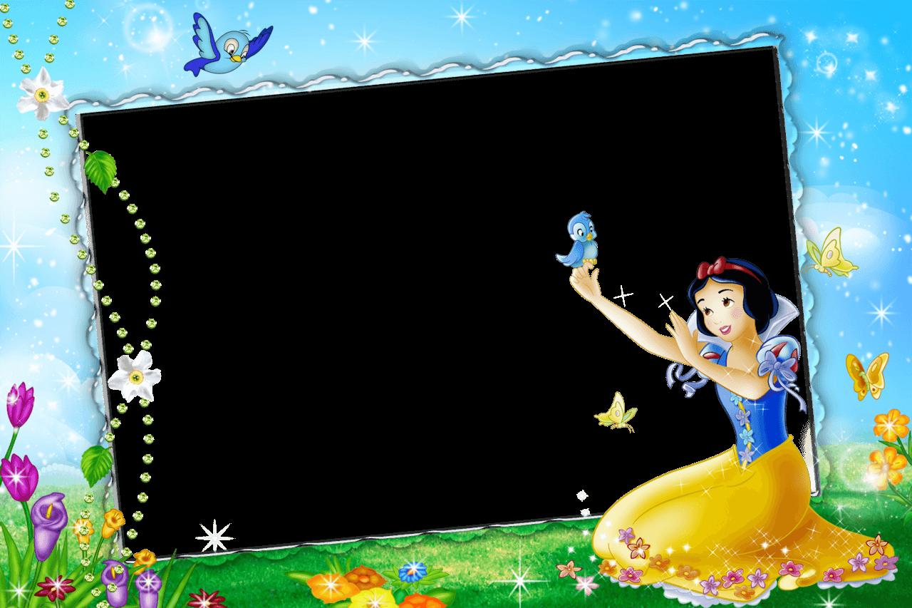 Marco Azul de Foto de Blancanieves