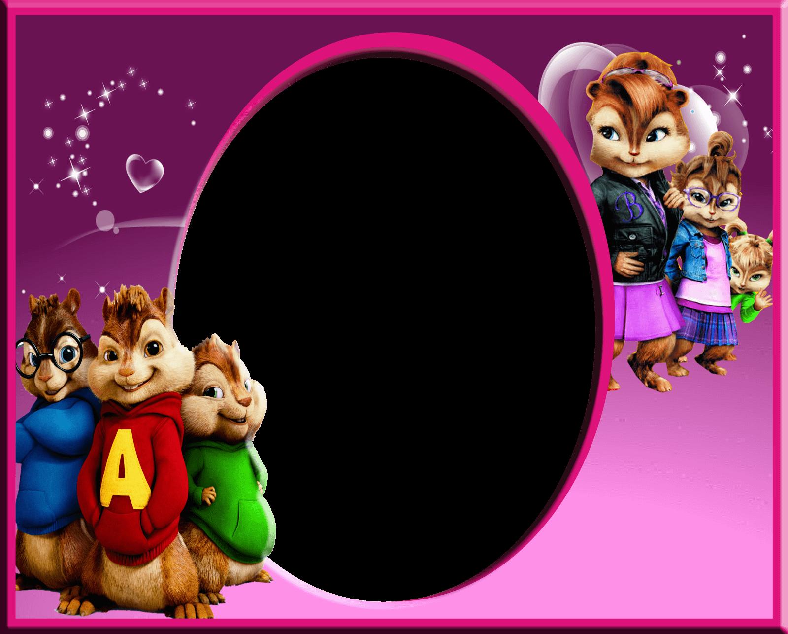 Marco para foto Disney – Alvin y las ardillas | Descargar Marcos
