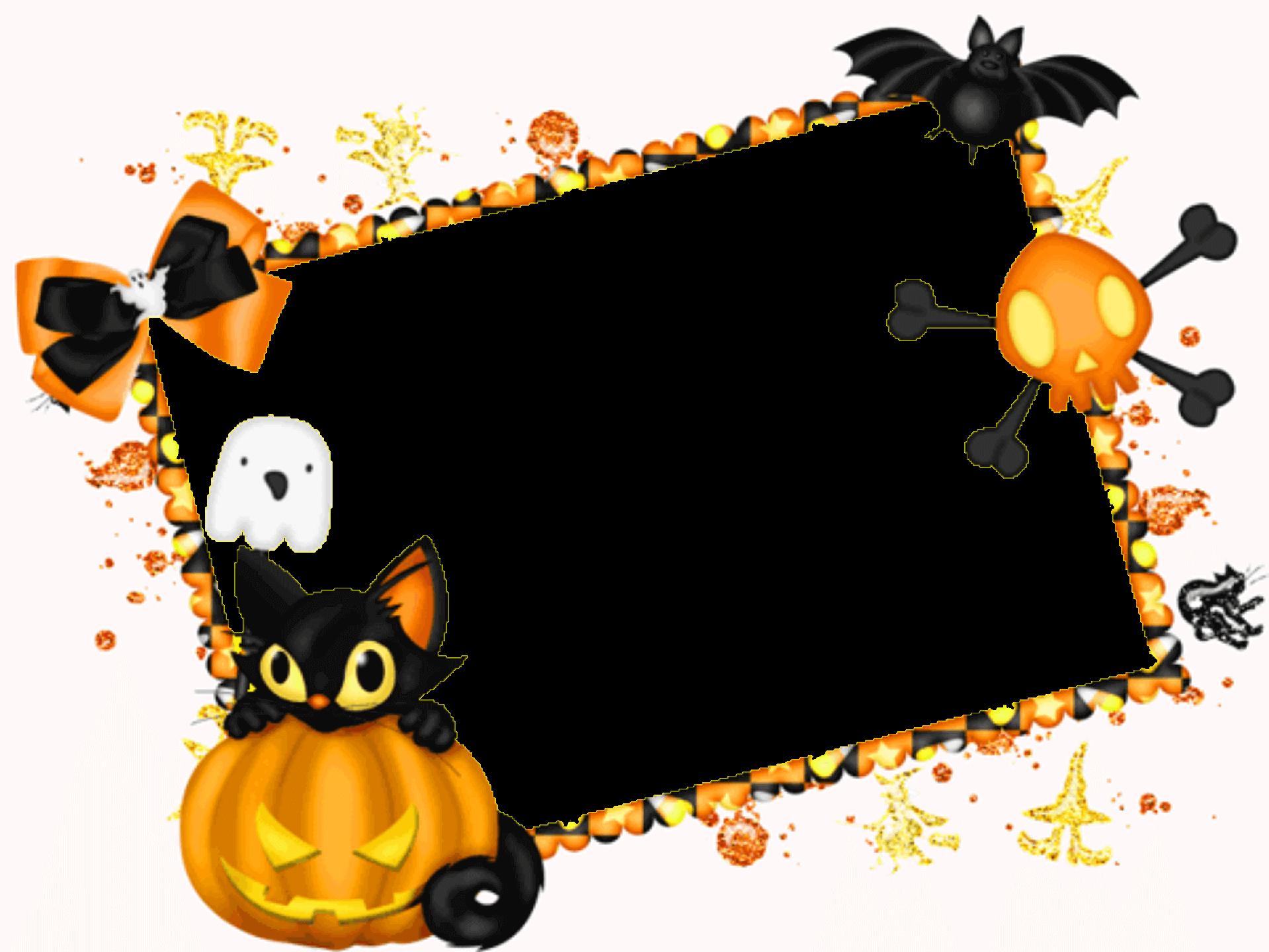 Marco de Halloween con Espantapájaros | Descargar Marcos