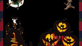 Marco Feliz Halloween con Calabaza