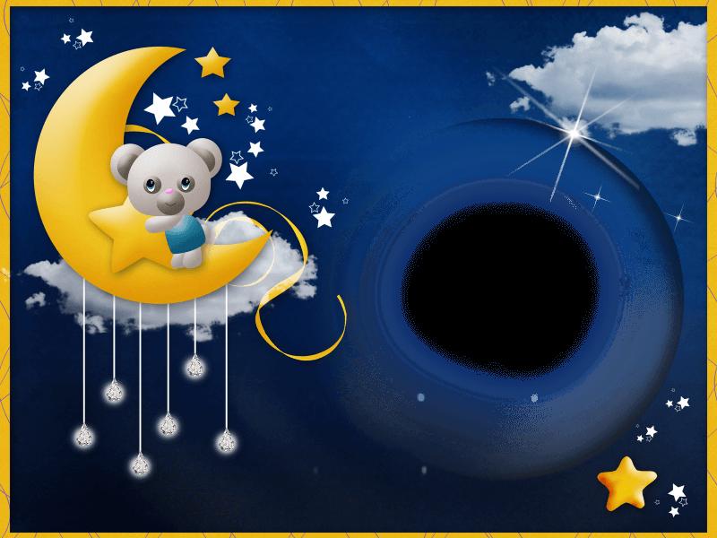 marco de foto luna2