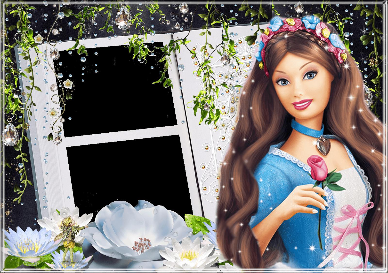 Marco Foto Barbie 4 | Descargar Marcos