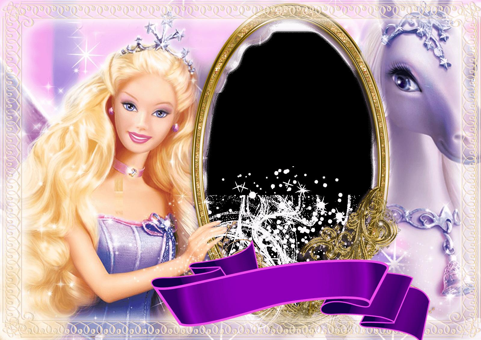 Marco Foto Barbie 5 | Descargar Marcos