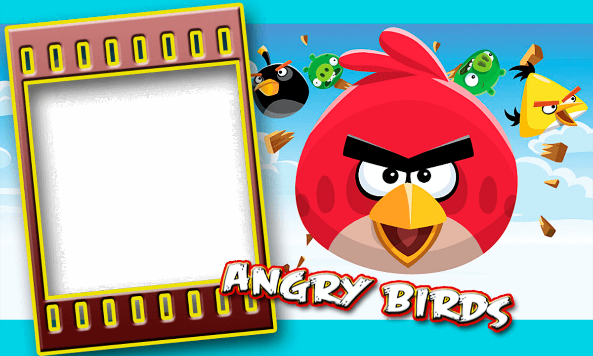 DESCARGA YA! FOTO ANGRY BIRDS | Descargar Marcos
