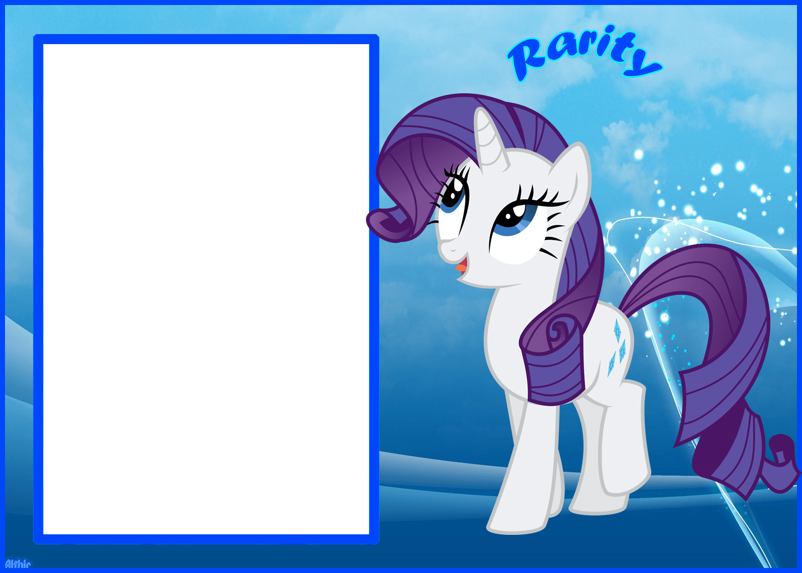 Marco Foto Mi Little Pony 8