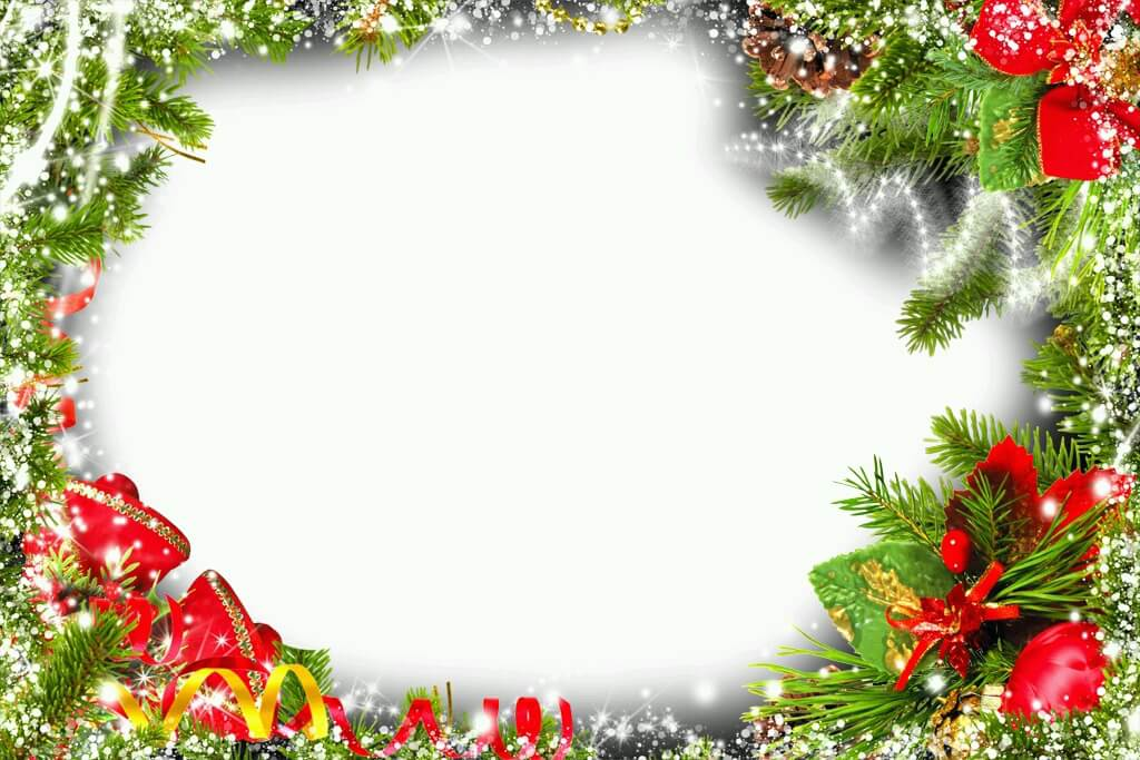 marco-de-navidad-luces - Descargar Marcos